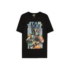 Star Wars Tričko Boba Fett Plakát Velikost M