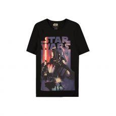Star Wars Tričko Darth Vader Plakát Velikost S