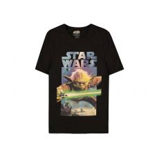 Star Wars Tričko Yoda Plakát Velikost M