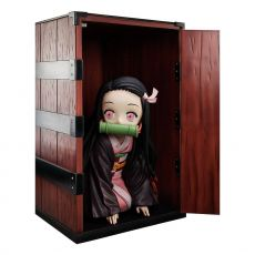 Demon Slayer: Kimetsu no Yaiba Big Velikost Soška Nezuko in a Box 44 cm