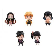 Demon Slayer: Kimetsu no Yaiba Trading Figure 5-Pack Sailor Tanjiro & Friends Mascot Set 5 cm
