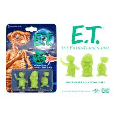 E.T. the Extra-Terrestrial Collector's Set Mini Figures 3-Pack Glowing Edition 5 cm