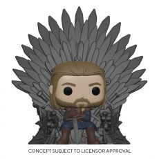Game of Thrones POP! Deluxe vinylová Figure Ned Stark on Throne 9 cm