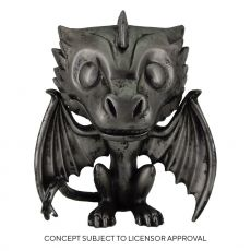 Game of Thrones POP! TV vinylová Figure Drogon (Iron) 9 cm