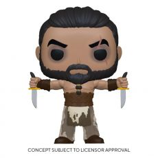 Game of Thrones POP! TV vinylová Figure Khal Drogo w/Daggers 9 cm