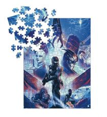 Mass Effect Jigsaw Puzzle Heroes (1000 pieces)