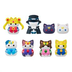 Sailor Moon Mega Cat Project Trading Figure 3 cm Sailor Mewn Sada (8)