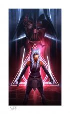 Star Wars Art Print Ahsoka Tano: Between Worlds 46 x 66 cm - unframed