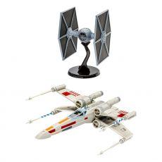 Star Wars Model Kit Dárkový Set 1/57 X-Wing Fighter & 1/65 TIE Fighter