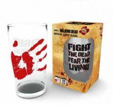 Walking Dead Skleněná Pinta Glass Fight The Dead