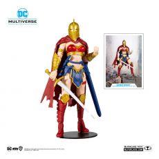 DC Multiverse Akční Figure LKOE Wonder Woman with Helma of Fate 18 cm