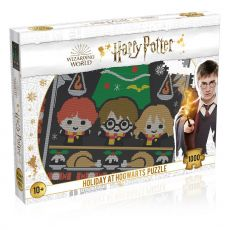 Harry Potter Jigsaw Puzzle Christmas Jumper 1 - Holiday at Bradavice (1000 pieces)
