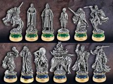 Lord of the Rings Šachy Pieces The Return of the King Character Package