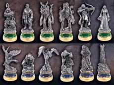 Lord of the Rings Šachy Pieces The Two Towers Character Package