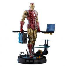 Marvel The Origins Kolekce Comic Masterpiece Akční Figure 1/6 Iron Man Deluxe Verze 33 cm