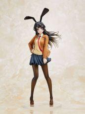 Rascal Does Not Dream of Bunny Girl Senpai Soška Mai Sakurajima Mai Uniform Bunny Ver. 23 cm
