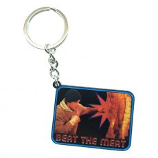 Rocky Metal Keychain Beat the Meat Limited Edition
