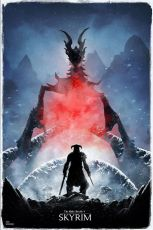 The Elder Scrolls Art Print Skyrim Limited Edition 42 x 30 cm