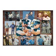 Bud Spencer & Terence Hill Jigsaw Puzzle Plakát Nástěnná #002 (1000 pieces)