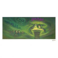 Harry Potter Art Print Half Blood Prince Book Cover Artwork Limited Edition 42 x 30 cm