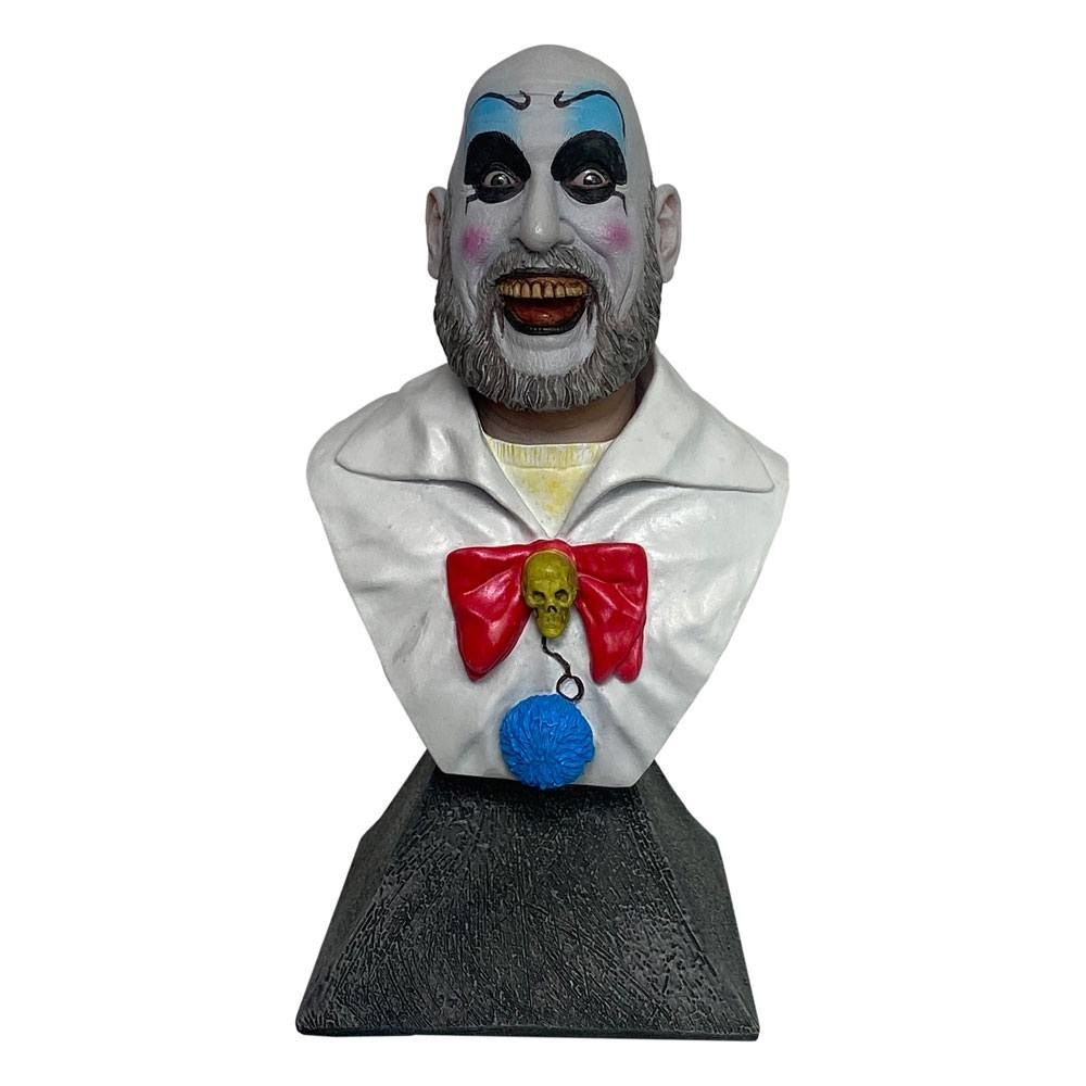 House of 1000 Corpses Mini Bysta Captain Spalding 15 cm Trick Or Treat Studios