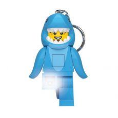 LEGO Classic Light-Up Keychain Shark 8 cm