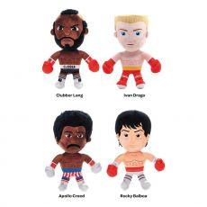 Rocky Plyšák Figures Drago, Creed, Lang, Balboa 30 cm Sada (4)
