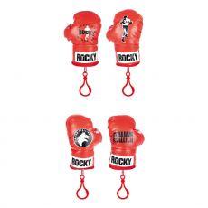 Rocky Plyšák Přívěsky na klíče Boxing Gloves 12 cm Sada (4)