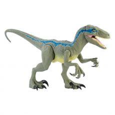 Jurassic World Dino Rivals Akční Figure Super Colossal Velociraptor Blue 45 cm