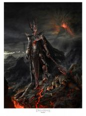 Lord of the Rings Fine Art Print Sauron Variant 61 x 81 cm