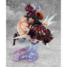 One Piece Excellent Model P.O.P PVC Soška SA-Maximum Monkey D. Luffy Gear 4 Bounce Man Ver. 2 27 cm