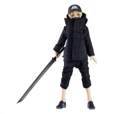 Original Character Figma Akční Figure Female Body Yuki with Techwear Outfit 13 cm