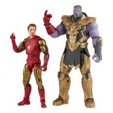 The Infinity Saga Marvel Legends Series Akční Figure 2-Pack 2021 Iron Man & Thanos (Endgame) 15 cm
