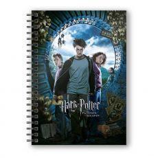Harry Potter Poznámkový Blok with 3D-Effect Harry Potter and the Prisoner of Azkaban