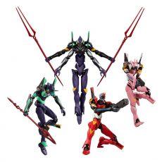 Evangelion EVA-Frame Akční Figures 11 cm Sada 02 Set (5)