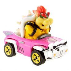 Mario Kart Hot Wheels Kov. Vehicle 1/64 Bowser (Badwagon) 8 cm