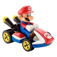 Mario Kart Hot Wheels Kov. Vehicle 1/64 Mario (Standard Kart) 8 cm