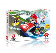 Mario Kart Jigsaw Puzzle Funracer (1000 pieces)