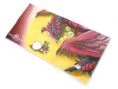Monster Hunter World Ručník Rathalos & Palico Egg Quest 150 x 75 cm