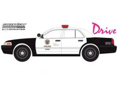 Drive (2011) Kov. Model 1/24 2001 Ford Crown Victoria Police Interceptor LAPD
