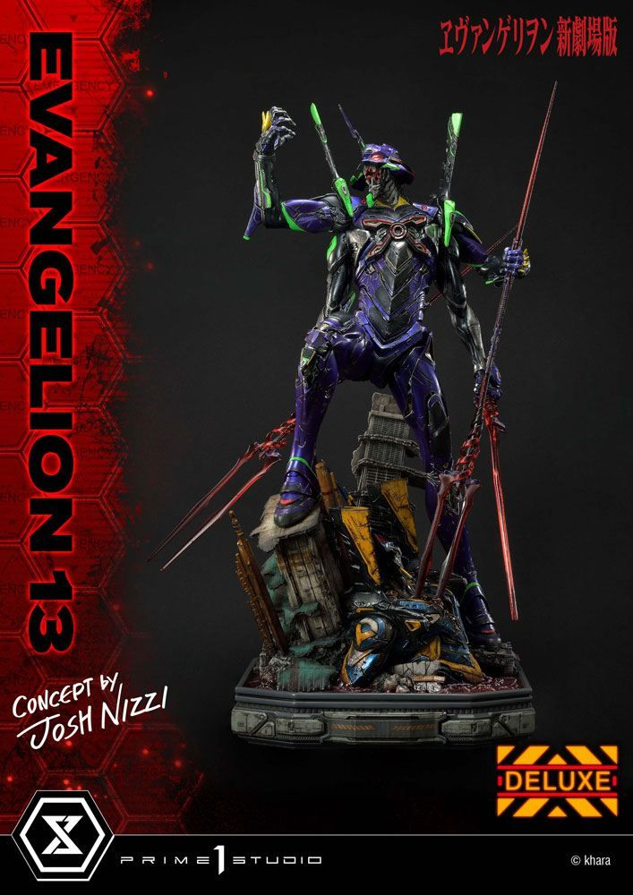 Evangelion: 3.0 You Can (Not) Redo Soška Evangelion 13 Concept by Josh Nizzi Deluxe Verze 79 cm Prime 1 Studio