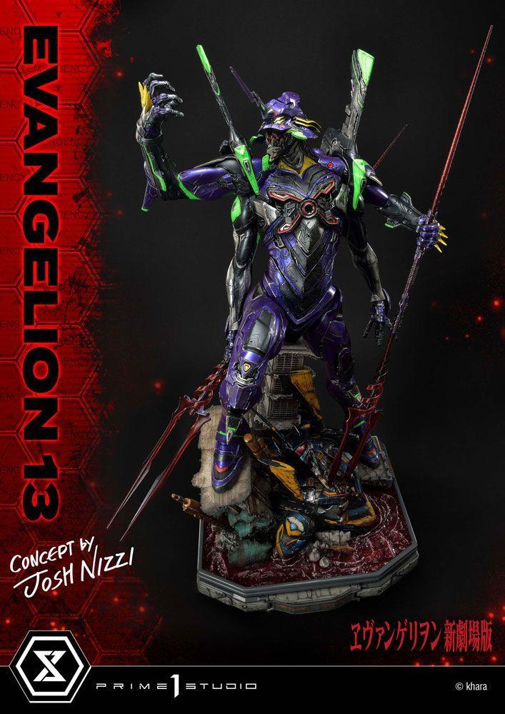 Evangelion: 3.0 You Can (Not) Redo Soška Evangelion 13 Concept by Josh Nizzi 79 cm Prime 1 Studio