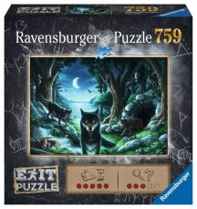 EXIT Jigsaw Puzzle The Curse of the Wolves (759 pieces)