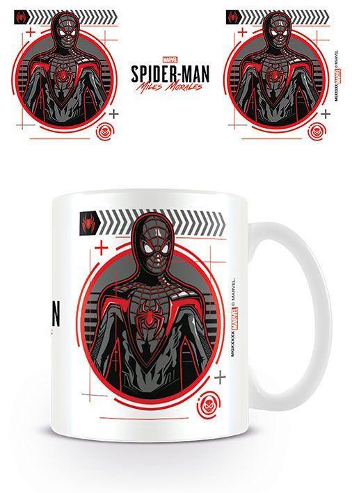 Spider-Man Hrnek Miles Morales Suit Tech Pyramid International