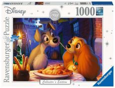 Disney Collector's Edition Jigsaw Puzzle Lady and the Tramp (1000 pieces)