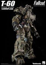 Fallout Akční Figure 1/6 T-60 Camouflage Power Armor 37 cm