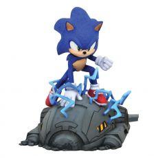 Sonic the Hedgehog Movie Gallery PVC Soška 1/6 Sonic 13 cm
