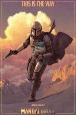 Star Wars The Mandalorian Plakát Pack On The Run 61 x 91 cm (5)