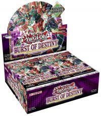 Yu-Gi-Oh! Burst of Destiny Booster Display (24) Anglická Verze