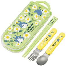 My Neighbor Totoro Jídelní hůlky & Spoon & Fork Set Daisies